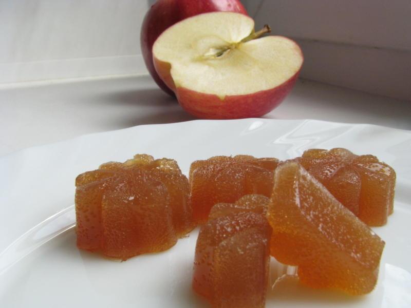 Как делать мармелад из яблок