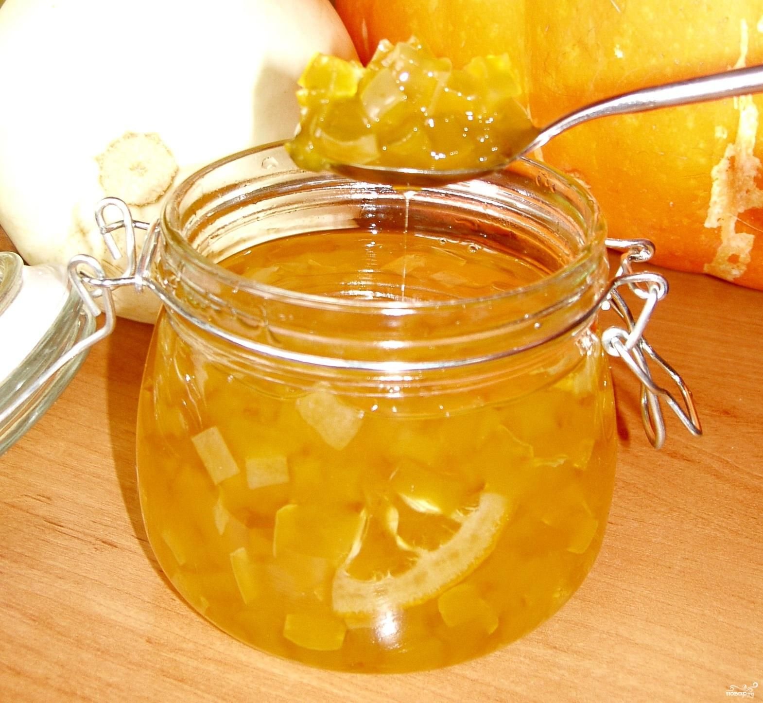 Как варить варенье из кабачков с лимоном