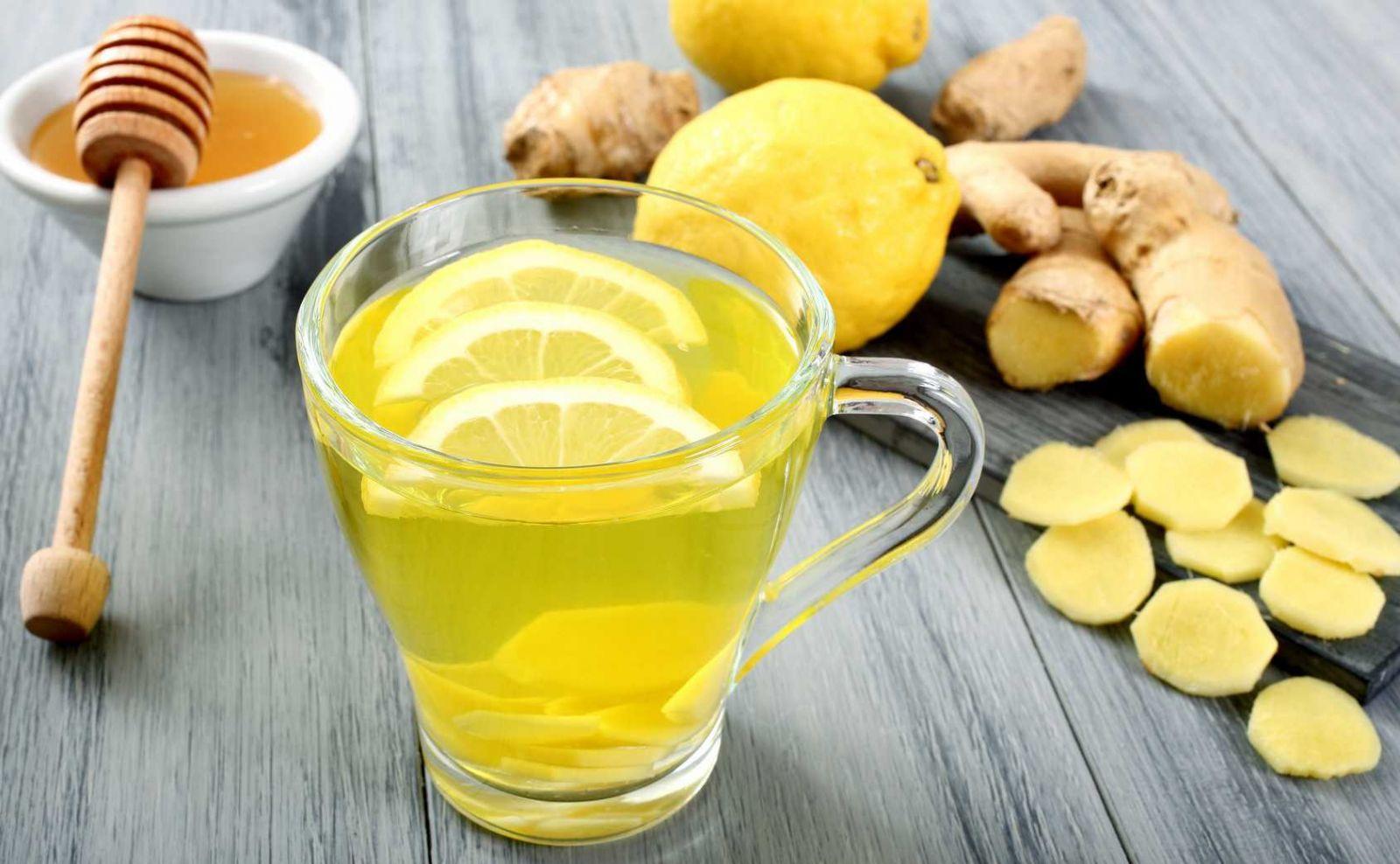 Как приготовить смесь (напиток) из имбиря, лимона и меда для поднятия иммунитета – Повышение иммунитета
