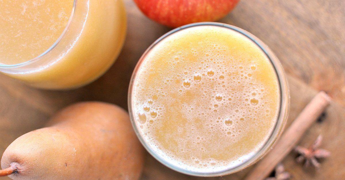 Яблочно-грушевый сок