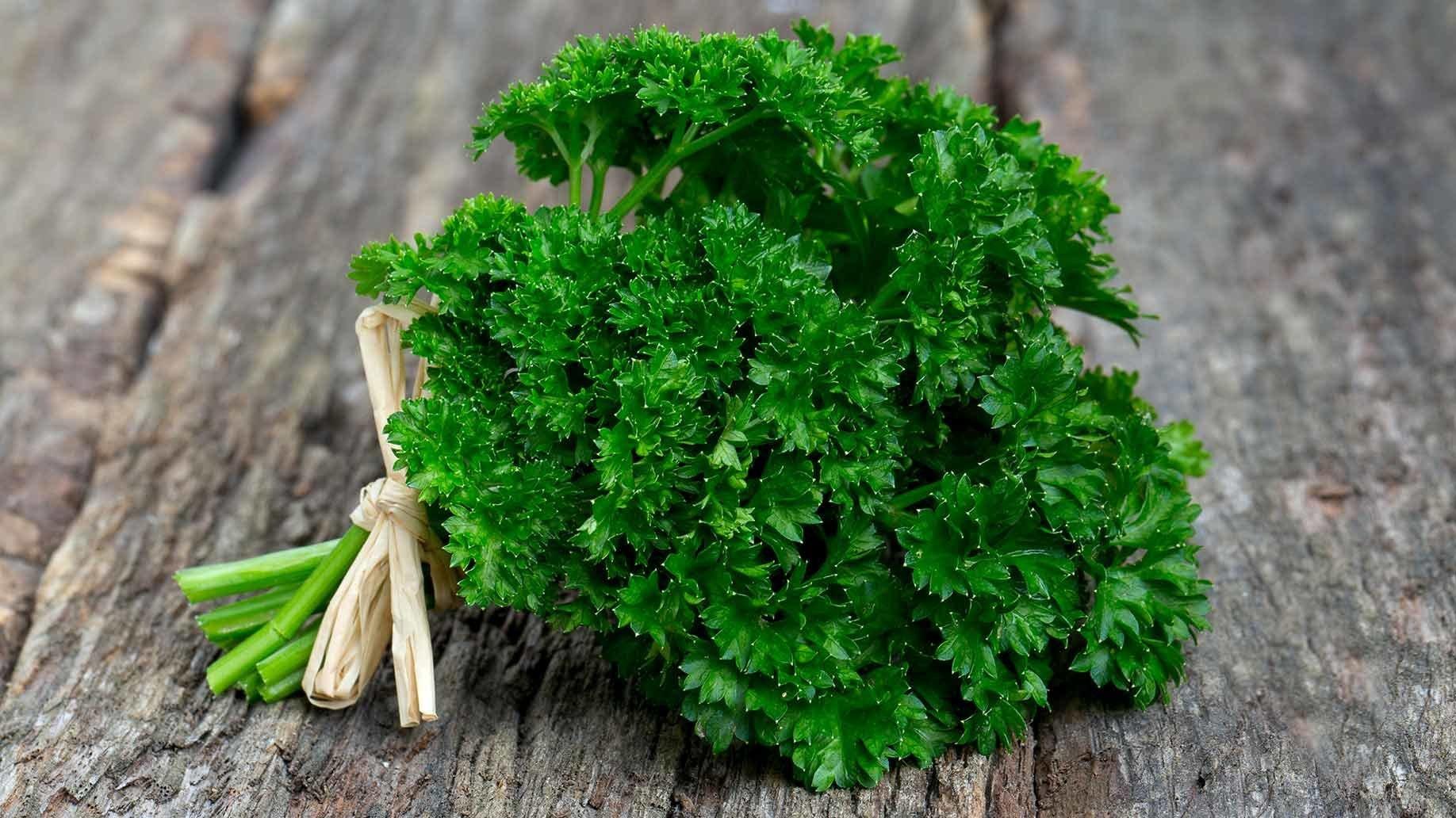 Собранная зелень
